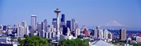 """Seattle, Washington State by Panoramic Images - 27"""" x 9"""""""