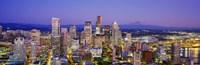 Seattle Lit Up Washington State