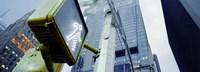 "Walk Signal New York New York USA by Panoramic Images - 27"" x 9"""