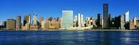 "New York Ciry Skyline (horizontal) by Panoramic Images - 27"" x 9"", FulcrumGallery.com brand"