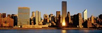 "Skyline, Manhattan, New York State, USA by Panoramic Images - 27"" x 9"""