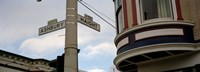 """Haight Ashbury District San Francisco CA by Panoramic Images - 27"""" x 9"""", FulcrumGallery.com brand"""