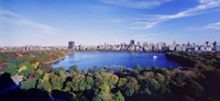 """Water View, Central Park, Manhattan by Panoramic Images - 27"""" x 9"""", FulcrumGallery.com brand"""