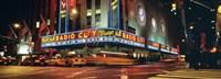 """Manhattan, Radio City Music Hall, NYC, New York City, New York State, USA by Panoramic Images - 27"""" x 9"""""""
