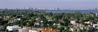 """High Angle View Of The City, Miami, Florida, USA by Panoramic Images - 27"""" x 9"""""""