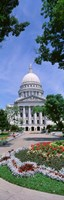 "USA, Wisconsin, Madison, State Capital Building by Panoramic Images - 9"" x 27"", FulcrumGallery.com brand"
