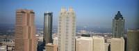 Skyscrapers in a city, Atlanta, Georgia, USA Fine Art Print