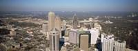 High angle view of buildings in a city, Atlanta, Georgia, USA Fine Art Print