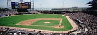 """Pac Bell Stadium, San Francisco, California by Panoramic Images - 27"""" x 9"""" - $28.99"""