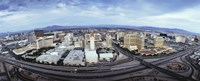 Aerial view of a city, Las Vegas, Nevada Fine Art Print