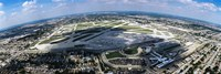 """Aerial view of an airport, Midway Airport, Chicago, Illinois, USA by Panoramic Images - 27"""" x 9"""""""