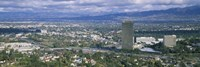 """High angle view of a city, Studio City, Los Angeles, California by Panoramic Images - 27"""" x 9"""" - $28.99"""