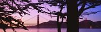 "Suspension Bridge Over Water, Golden Gate Bridge, San Francisco, California, USA by Panoramic Images - 27"" x 9"" - $28.99"