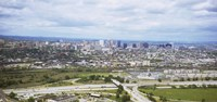 "Aerial view of a city, Newark, New Jersey, USA by Panoramic Images - 27"" x 9"""