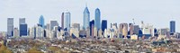 Philadelphia skyline, Pennsylvania, USA Fine Art Print