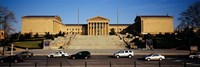 "Facade of an art museum, Philadelphia Museum Of Art, Philadelphia, Pennsylvania, USA by Panoramic Images - 27"" x 9"" - $28.99"