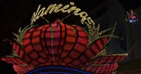 """High section view of a casino, Flamingo Casino, Las Vegas, Nevada, USA by Panoramic Images - 27"""" x 14"""""""