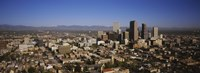 """High angle view of Denver, Colorado, USA by Panoramic Images - 27"""" x 9"""""""