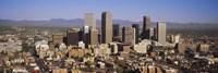 """Denver skyline, Colorado, USA by Panoramic Images - 27"""" x 9"""", FulcrumGallery.com brand"""