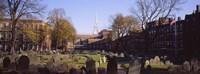 "Copp's Hill Burying Ground, Freedom Trail, Boston, Massachusetts by Panoramic Images - 27"" x 9"""