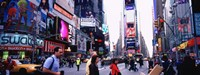 """Times Square, New York by Panoramic Images - 27"""" x 9"""""""
