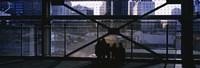 """Ground Zero Memorial, New York by Panoramic Images - 27"""" x 9"""""""