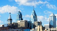 """Skyscrapers in a city, Liberty Place, Philadelphia, Pennsylvania, USA by Panoramic Images - 27"""" x 15"""" - $28.99"""