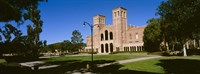 """Facade of a building, Royce Hall, City of Los Angeles, California, USA by Panoramic Images - 27"""" x 9"""""""