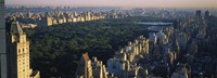 "Central Park and Manhattan, New York City by Panoramic Images - 27"" x 9"" - $28.99"