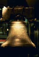 """Close-up of a bell, Liberty Bell, Philadelphia, Pennsylvania, USA by Panoramic Images - 18"""" x 27"""""""