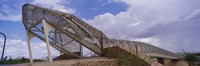 "Pedestrian bridge over a river, Snake Bridge, Tucson, Arizona, USA by Panoramic Images - 27"" x 9"" - $28.99"