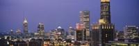 Buildings in a City Atlanta Georgia