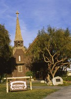 """Low angle view of a church, The Little Church of the West, Las Vegas, Nevada, USA by Panoramic Images - 20"""" x 27"""" - $39.99"""