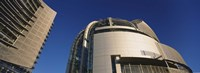 """Low angle view of a city hall, Downtown San Jose, Silicon Valley, California by Panoramic Images - 27"""" x 9"""" - $28.99"""