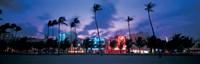 Dusk Miami Florida USA