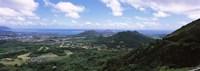 "Kaneohe, Oahu, Hawaii by Panoramic Images - 27"" x 9"""