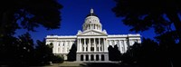 """California State Capitol Building by Panoramic Images - 27"""" x 9"""""""