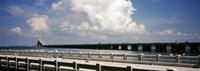 "Bridge across a bay, Sunshine Skyway Bridge, Tampa Bay, Gulf of Mexico, Florida, USA by Panoramic Images - 27"" x 9"""