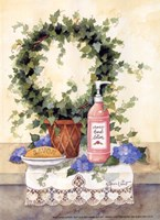 Rose Hand Lotion Fine Art Print