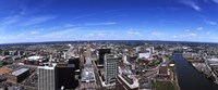"Aerial view of a cityscape, Newark, Essex County, New Jersey by Panoramic Images - 27"" x 9"""