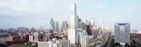 """Dallas Skyline by Panoramic Images - 27"""" x 9"""""""