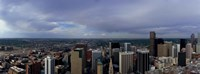 """Buildings in a city, Denver, Denver county, Colorado by Panoramic Images - 27"""" x 9"""""""