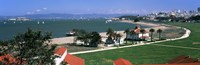 """Crissy Field, San Francisco, California by Panoramic Images - 27"""" x 9"""""""