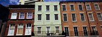 """Low angle view of buildings, Riverwalk Area, New Orleans, Louisiana, USA by Panoramic Images - 27"""" x 9"""""""
