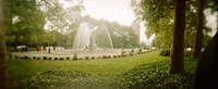 """Fountain in a park, Prospect Park, Brooklyn, New York City, New York State, USA by Panoramic Images - 27"""" x 9"""", FulcrumGallery.com brand"""