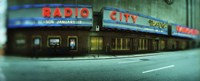 """Stage theater at the roadside, Radio City Music Hall, Rockefeller Center, Manhattan, New York City, New York State, USA by Panoramic Images - 27"""" x 9"""""""