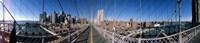 Looking Down the Brooklyn Bridge