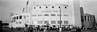 People outside a baseball park, old Comiskey Park, Chicago, Cook County, Illinois, USA Fine Art Print