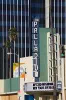 Theater in a city, Hollywood Palladium, Hollywood, Los Angeles, California, USA Fine Art Print