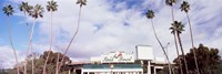 "Facade of a stadium, Rose Bowl Stadium, Pasadena, Los Angeles County, California, USA by Panoramic Images - 27"" x 9"" - $28.99"